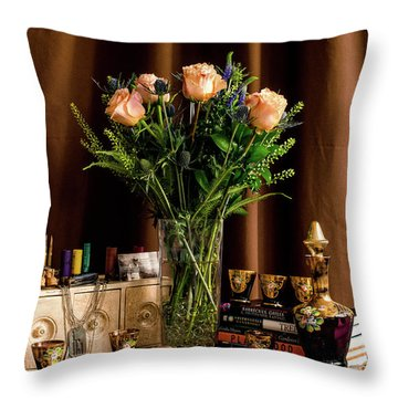 Memories Throw Pillow by Wendy Blomseth