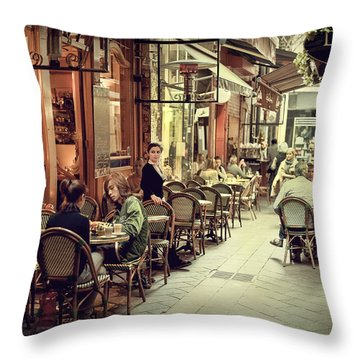 Memory Lane Arcanum Edition Throw Pillow