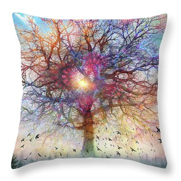 Memory Of A Tree Throw Pillow