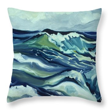 Memory Of The Ocean Throw Pillow