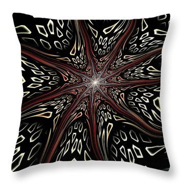Throw Pillow featuring the digital art Memory Pieces by Anastasiya Malakhova