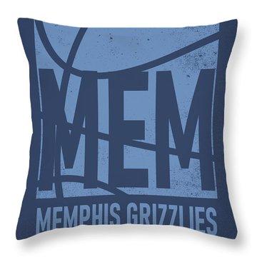 Memphis Grizzlies Throw Pillows