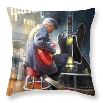 Memphis Nights 05 Throw Pillow
