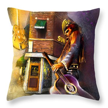 Memphis Nights 06 Throw Pillow
