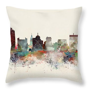 Memphis Tennessee Throw Pillow