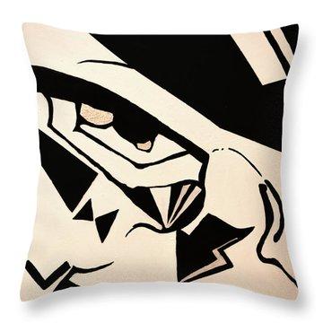 Menace Of Mischief Throw Pillow