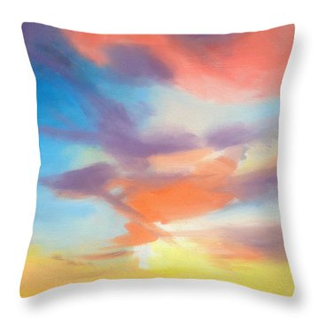 Mendelssohn Symphony #4 Throw Pillow