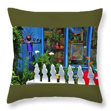 Mendocino Art Center Throw Pillow