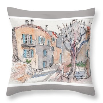 Menerbes Throw Pillow