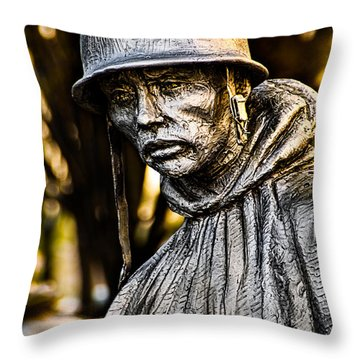 Mental Seclusion Throw Pillow by Christopher Holmes