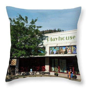 Merc Playhouse In Twisp Throw Pillow