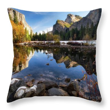 Merced Reflections Throw Pillow