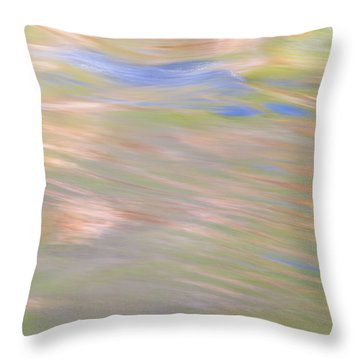 Merced River Reflections 20 Throw Pillow
