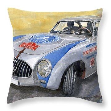 Mercedes Benz 300 Sl 1952 Carrera Panamericana Mexico  Throw Pillow
