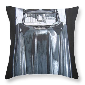 Mercedes Benz Gullwing Throw Pillow