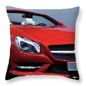 Mercedes Benz Sl Throw Pillow