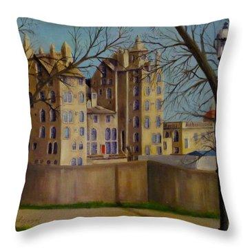 Mercer Museum Throw Pillow