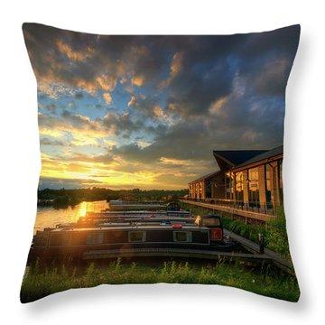 Throw Pillow featuring the photograph Mercia Marina 10.0 by Yhun Suarez
