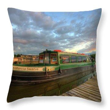 Throw Pillow featuring the photograph Mercia Marina 14.0 by Yhun Suarez
