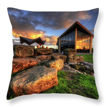 Throw Pillow featuring the photograph Mercia Marina 15.0 by Yhun Suarez