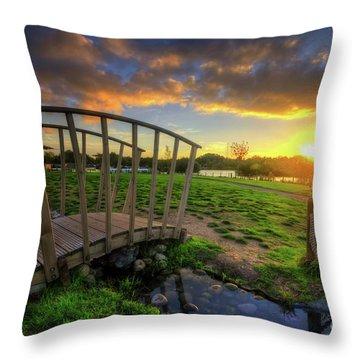 Throw Pillow featuring the photograph Mercia Marina 16.0 by Yhun Suarez
