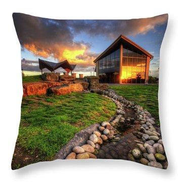 Throw Pillow featuring the photograph Mercia Marina 17.0 by Yhun Suarez
