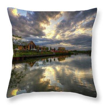 Mercia Marina 20.0 Throw Pillow by Yhun Suarez