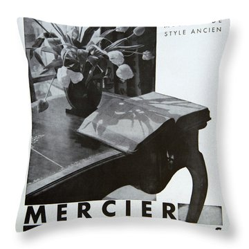 Mercier #8699 Throw Pillow
