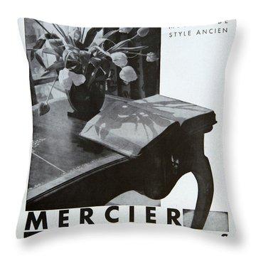 Mercier #8699 Throw Pillow