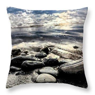 Mercury Morning Throw Pillow