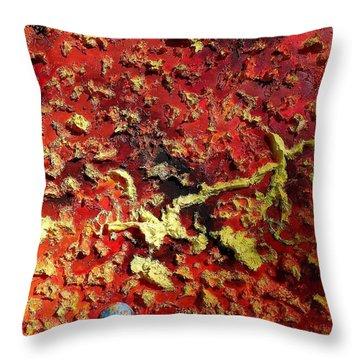 Mercury Throw Pillow by Raymond Perez