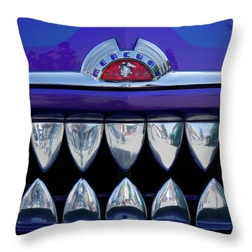 Throw Pillow featuring the photograph Mercury by Roger Mullenhour