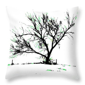 Meredith Green 2 Throw Pillow