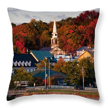 Meredith Sunrise Throw Pillow