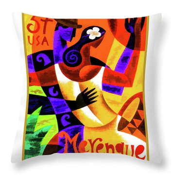 Merengue Throw Pillow by Lanjee Chee