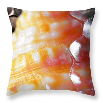 Throw Pillow featuring the photograph Merge 2 by Skip Hunt