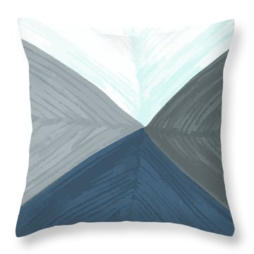 Merge Throw Pillow