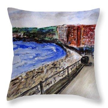 Mergelina Way Napoli Throw Pillow