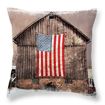 Merica IIi Throw Pillow