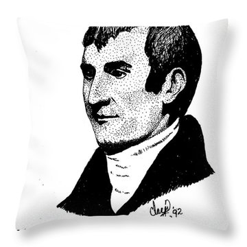 Meriwether Lewis Throw Pillow
