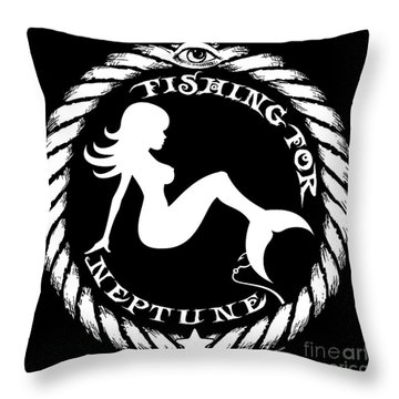 Mermaid    Throw Pillow by Tony Koehl