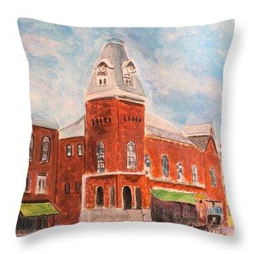 Merrimac Massachusetts Throw Pillow