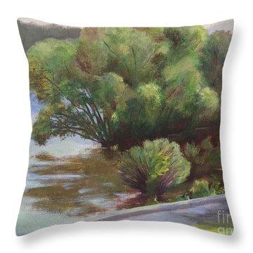 Merrimack Tree Throw Pillow