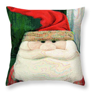 Merry Christmas Art 14 Throw Pillow