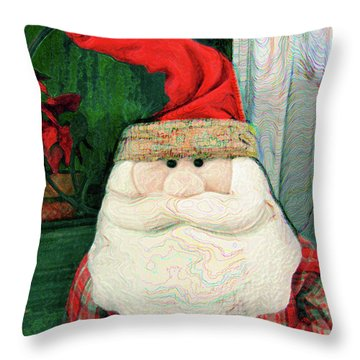 Merry Christmas Art 15 Throw Pillow