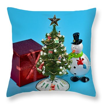 Merry Christmas To You Throw Pillow