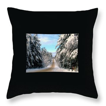 Merry Christmas,happy Holidays Throw Pillow
