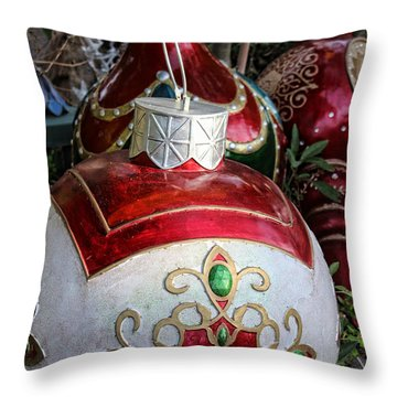 Merry Joyful Christmas Throw Pillow