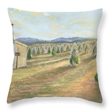 Merry Valley Throw Pillow