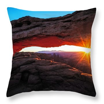 First Light Throw Pillows